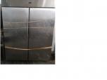 Immagine di NR. 1 FRIGO A COLONNA DUE PORTE IN ACCIAIO (140*80*200h) DOTATO DI RIPIANI IN ACCIAIO, NR.1 MOTORE MARCA 'RIVACOLD'