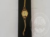 Orologio con cassa in oro da donna