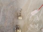 Collana di perle, collana oro bianco, collana di perle, orecchini di perle, N. 2 anelli, orologio in oro, orologio in oro, orologio in acciaio