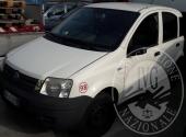 Autocarro Fiat Panda benzina/metano, targato DV 462 EB