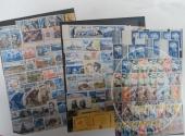 Francobolli da collezione: colonie Francesi (lotto 120) tre raccoglitori con 1.160 francobolli nuovi