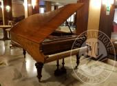 (Lotto n.84) - Pianoforte a mezza coda in legno chiaro marca BLUTHNER LEIPZIG