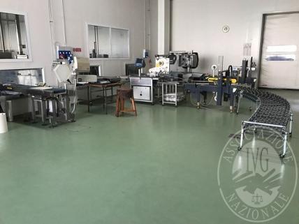 (Lotto n.1) - Vendita in blocco di attrezzature per la lavorazione ed il confezionamento del formaggio